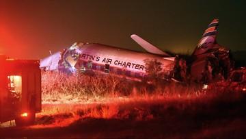 Katastrofa samolotu pasażerskiego w RPA. 20 osób rannych. Maszyna uderzyła w budynek opodal lotniska