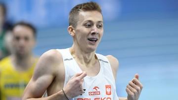 Tokio 2020: Halowy wicemistrz Europy chce uzyskać minimum na igrzyska