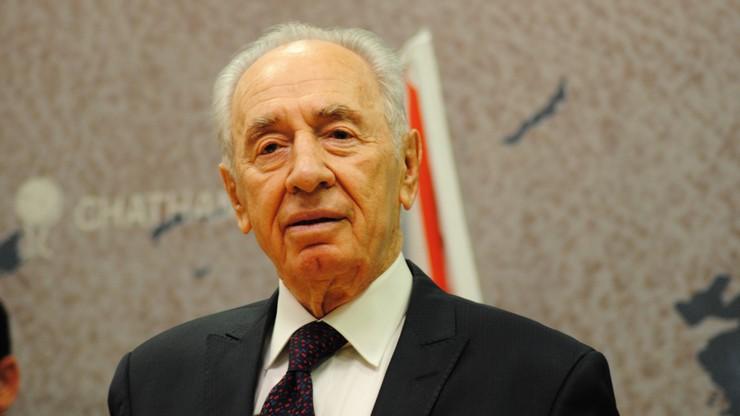 Szimon Peres w szpitalu. Miał zawał