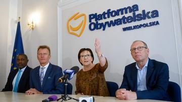 """""""Będę roznosić ulotki"""". Była premier Ewa Kopacz zapowiada zaangażowanie w kampanię KO"""