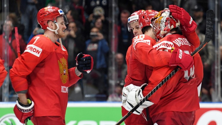 MŚ w hokeju: Rosja pierwszym półfinalistą