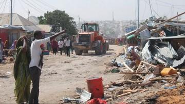 Zamach bombowy w Somalii. Wielu zabitych i rannych