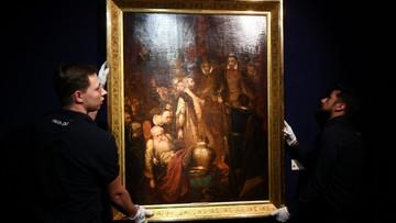 Obraz Matejki sprzedany za rekordowe 3,7 mln zł. Kupił go anonimowy nabywca