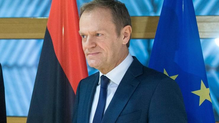 Tusk apeluje o natychmiastowe przerwanie walk na wschodzie Ukrainy