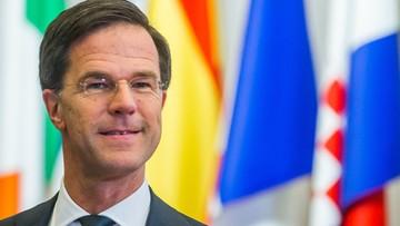 Premier Holandii chce zmniejszyć dyplomatyczne napięcie z Turcją