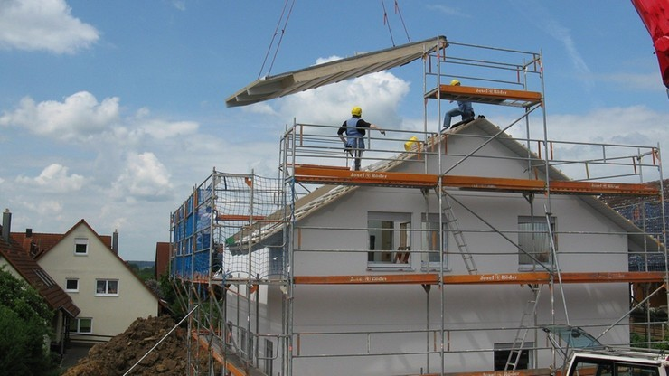 Budownictwo w kryzysie. Piąty z rzędu miesiąc regresu