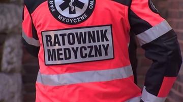 Przeważyło poczucie obowiązku. Ratownicy medyczni, w czasie protestu, uratowali życie kobiecie