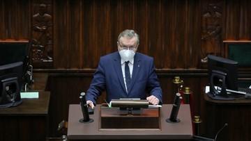Wicepremier Gliński przedstawił w Sejmie dane dot. Funduszu Wsparcia Kultury