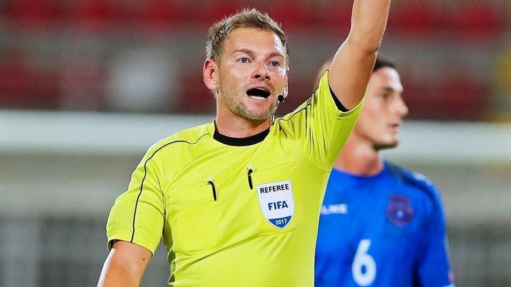 Austriak arbitrem towarzyskiego meczu Polska – Ukraina