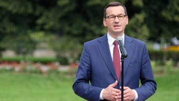 """Premier rozmawiał z Cichanouską. """"Białorusini mają pełne wsparcie Polski"""""""