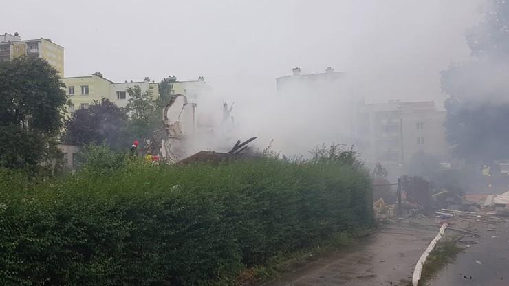 Toruń. Wybuch w domu jednorodzinnym. 17 strażackich zastępów w akcji