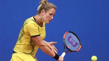 WTA w Lyonie: Katarzyna Kawa wyeliminowana w 1. rundzie