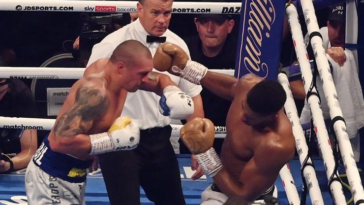 Wielka Brytania. Ołeksandr Usyk mistrzem świata wagi ciężkiej. Anthony Joshua pokonany