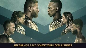 UFC 259: Błachowicz - Adesanya. Karta walk