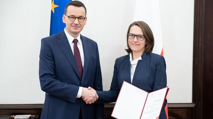 Pierwsza kobieta na czele Krajowej Administracji Skarbowej