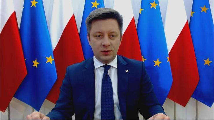"""""""Nie może być zgody na czyny chuligańskie"""". Szef KPRM o Marszu Niepodległości"""
