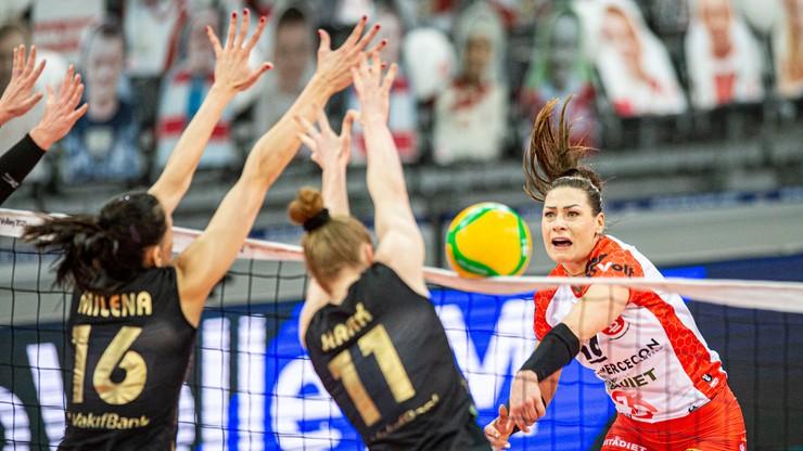 Liga Mistrzyń: VakifBank za mocny dla siatkarek ŁKS