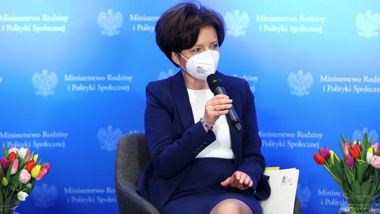 Minister Marlena Maląg: dodatkowy zasiłek wydłużony do 11 kwietnia