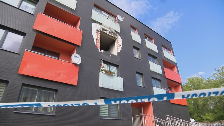 Prokuratura o wybuchu w mieszkaniu w Warszawie. Przyczyną eksplozja hulajnogi