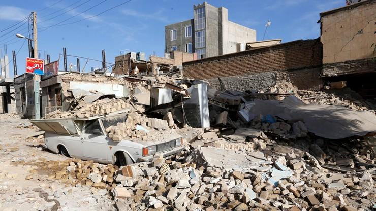 Ponad pół tysiąca ofiar. Zakończono akcję ratunkową po trzęsieniu ziemi w Iranie