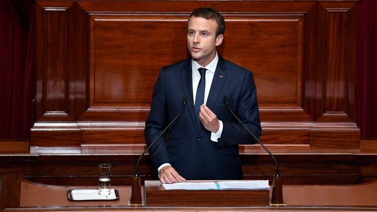 Francja: w wystąpieniu w Kongresie Macron zwrócił się do narodu