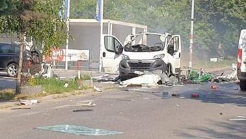 Dwie ofiary po wybuchu samochodu w Częstochowie. Ryzyko kolejnych eksplozji