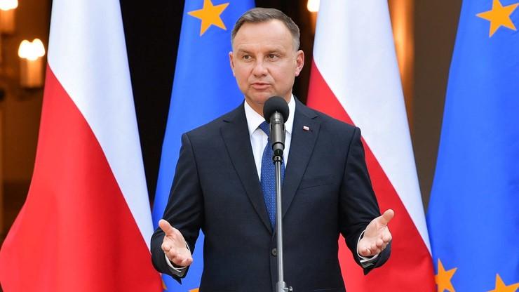 Prezydent: Nord Stream 2 to bardzo negatywny projekt