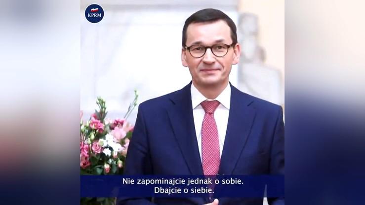Życzenia premiera Morawieckiego z okazji Dnia Kobiet