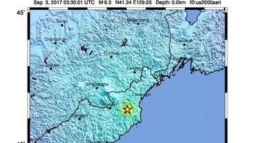Próba z użyciem bomby wodorowej w Korei Płn. Dwa silne wstrząsy sejsmiczne