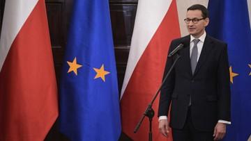 Powołanie rządu Mateusza Morawieckiego przez prezydenta w piątek o 14:30