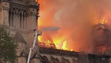 Sześciu strażaków, którzy gasili pożar katedry Notre Dame obwinianych o zbiorowy gwałt na 20-latce