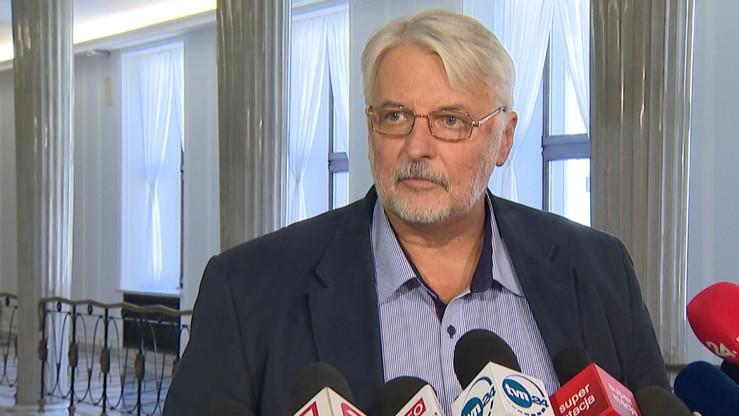 Jest śledztwo dot. ekspertyz, na które powoływał się  Waszczykowski ws. wyboru Tuska na szefa RE
