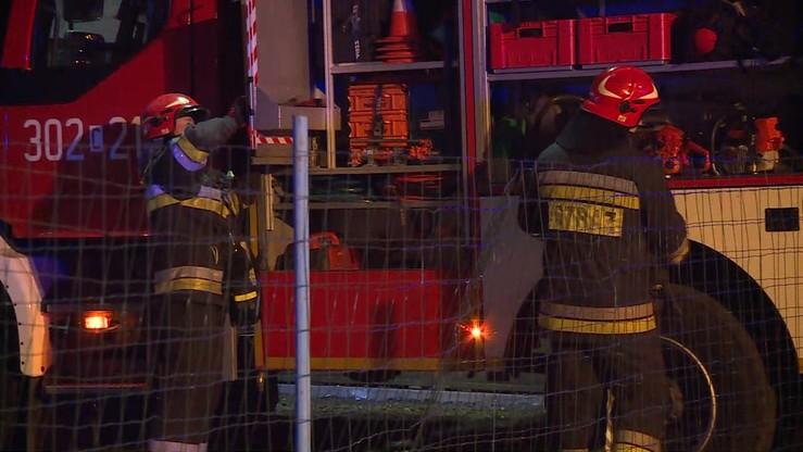 Seria pożarów w Krakowie. Nie żyją trzy osoby