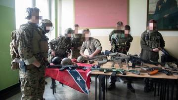 Imitacja broni terrorysty z Nowej Zelandii na dniach otwartych szkoły w Tarnowie