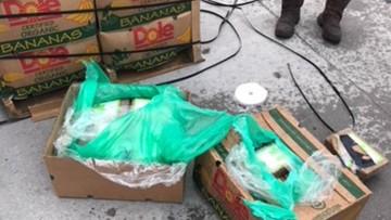Więźniowie dostali banany. A w środku... ukryta kokaina o wartości 18 mln dolarów