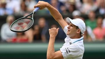 Wimbledon: Hurkacz - Berrettini. Skrót meczu (WIDEO)