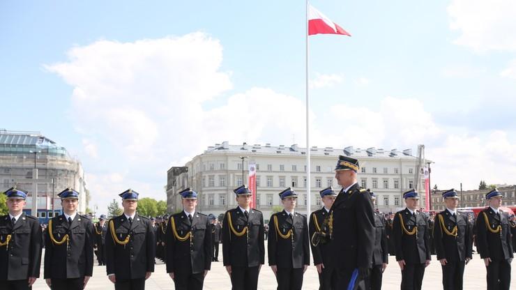 Prezydent w Dniu Strażaka: to formacja ceniona przez Polaków