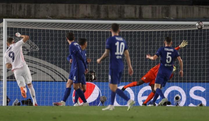 Liga Mistrzów: Real Madryt - Chelsea. Skrót meczu (WIDEO)