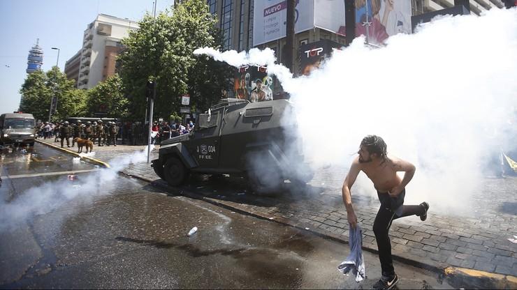 Demonstracje w Chile przeciwko prywatnemu systemowi emerytalnemu