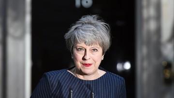 Premier Theresa May chce przedterminowych wyborów 8 czerwca
