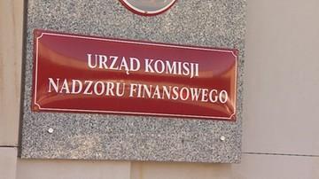 Kolejne firmy na liście ostrzeżeń publicznych KNF