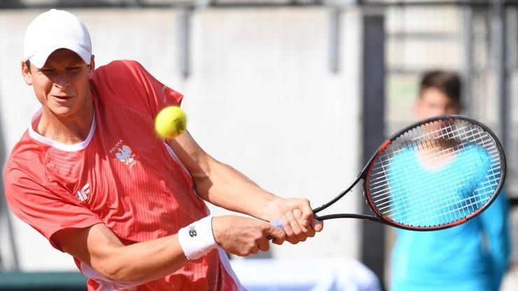 Polacy wygrali ze Słowenią w Pucharze Davisa