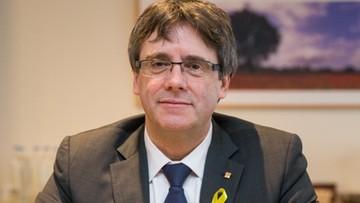 Madryt nie zgadza się, by Puigdemont rządził Katalonią z Brukseli