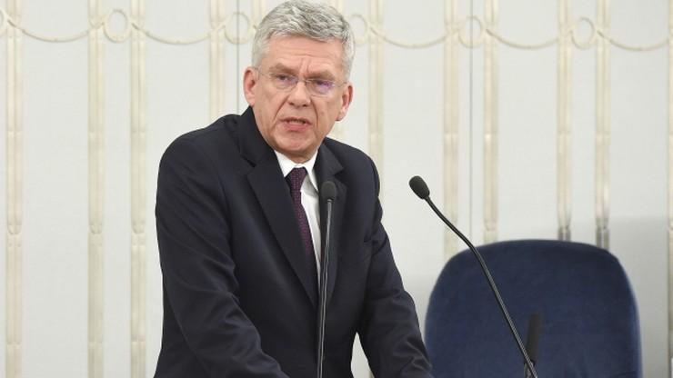 Karczewski odpowiedział Tuskowi: kto rozpowszechnia kłamliwe sformułowania o Polsce powinien zniknąć z życia publicznego