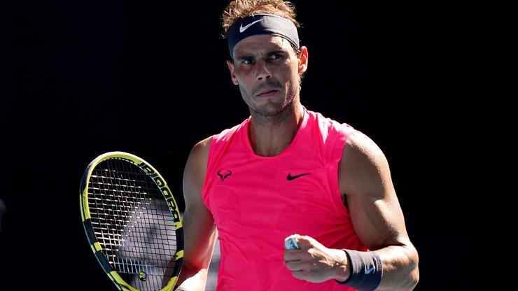 Australian Open: Nadal po raz trzynasty w 1/8 finału w Melbourne