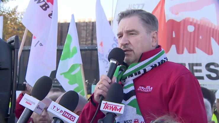 """""""Podpalimy Europę"""" - Piotr Duda, przewodniczący NSZZ """"Solidarność"""""""