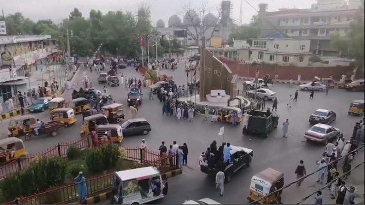 Talibowie dotarli do Kabulu