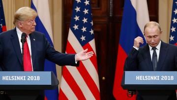 """Trump: spotkanie z Putinem """"nawet lepsze"""" niż szczyt NATO"""