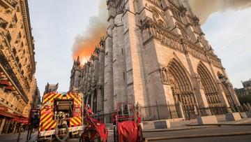 """""""Pożar prawdopodobnie wzniecony przypadkiem"""" - francuska prokuratura"""