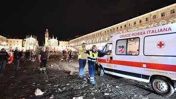 Ponad 1500 rannych w strefie kibica w Turynie, w tym trzech Polaków